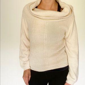 Black Swan Cowl Neck Knit Sweater